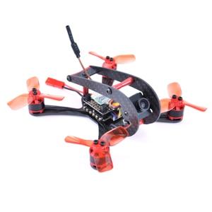 Image 1 - FPV מזלט X118 118mm סיבי פחמן מיני FPV Quadcopter מסגרת ערכת מיני F3/F4 Flytower 1104 7500KV מנוע 700TVL מצלמה 2030 אבזר