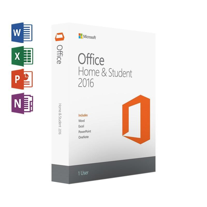 Image 3 - Microsoft Office Home And Student 2016  for windows Retail boxed with Product Key Code PC Download