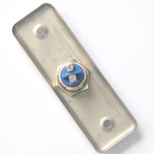 Image 4 - 92x28mm drzwi ze stali nierdzewnej przycisk z dzwonkiem przełącznik Panel dotykowy do kontroli dostępu dzwonek do drzwi Slim Exit Push Release