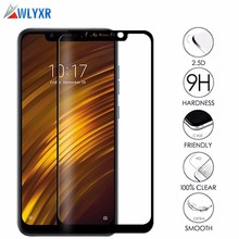 9H Tempered Glass For Xiaomi Pocophone F1 Anti-Scratch 2.5D Explosion Proof Screen Protector Film For Pocophone F1 Poco Film цена и фото