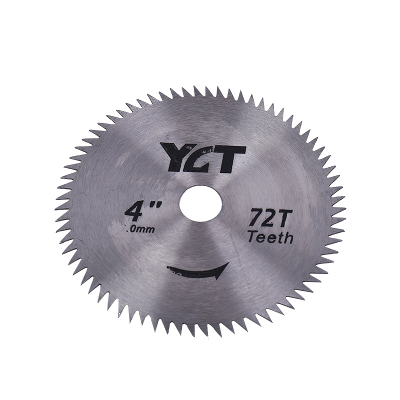 4'' Electric Grinding Machine Accessories HSS Cutting Blade Sawing Burr-free Circular Saw  Woodworking Alloy 42 Teeth