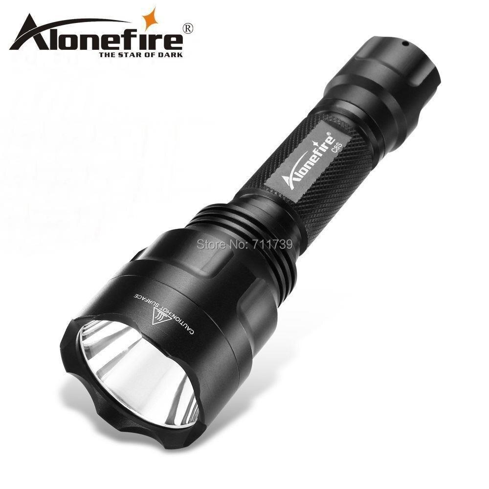 AloneFire C8 High Power Led Flashlight XML T6 L2 U3 5000LM Waterproof Cave Exploration Climbing Torch Spotlight Lantern