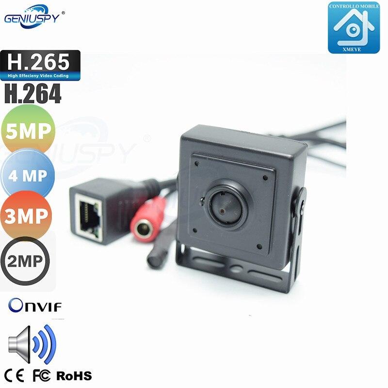 5MP 4MP 3MP 2MP Covert H.265 CCTV Security Mini 5.0MP IP Security Camera Surveillance Home ONVIF P2P Audio Video Record