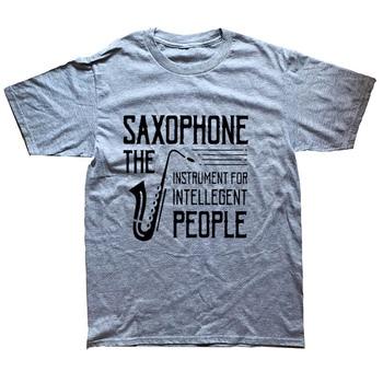 Present Idea Saxophone Musician T-Shirt8