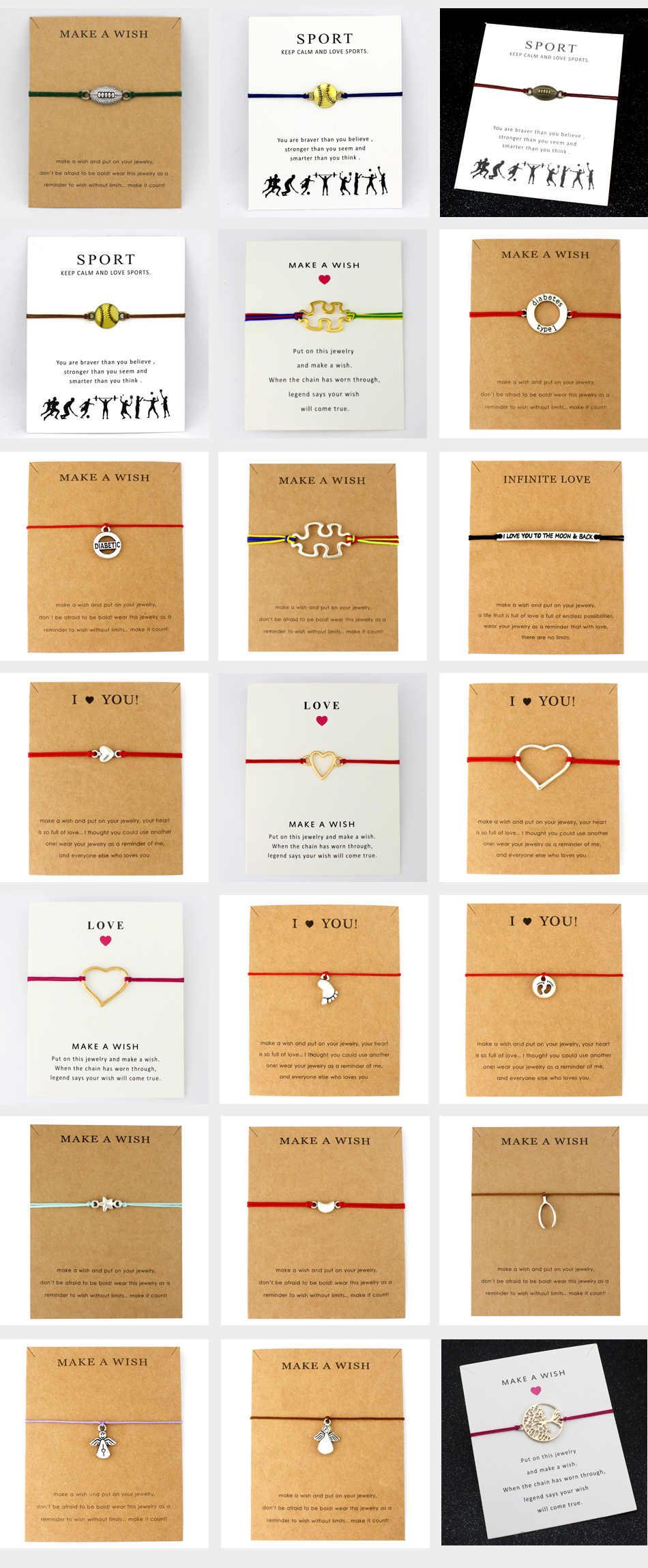 סוכרת סוג 1 אוטיזם פאזל קסמי צמידי נשים גברים אהבת ידידות תכשיטים מתנה לחג המולד