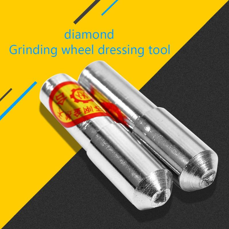 Triangular Tip Diamond Dresser Pen Cutters For Grinding Disc Wheel Dressing For Wood Working Stone Dressing Bench Grinder Tools