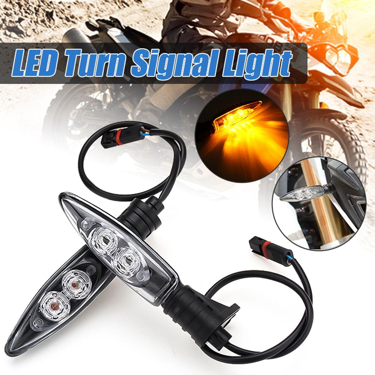Pair Motorcycle Rear LED Turn Signal Light Indicator Lamp for BMW S1000RR HP4 F700GS F800GS F800R s1000rr turn led lights