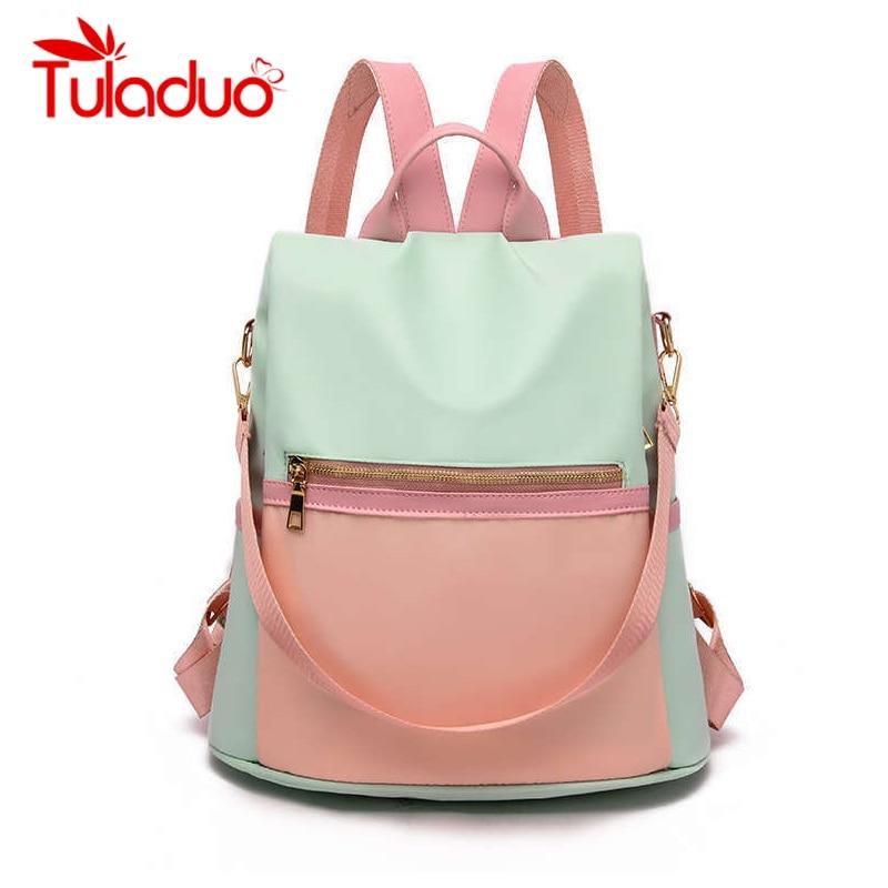 Для женщин рюкзаки для подростков обувь девочек Молодежные Daypacks новая школьная сумка студент нейлон водонепрониц