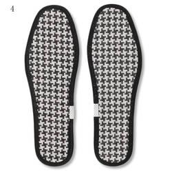 Ручной бамбуковый уголь белье Стельки спортивные Обувь с дышащей сеткой Антибактериальная стелька удобная пот трудно-повседневная обувь