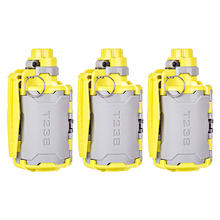 New 3 Pcs T238 V2 Large Capacity Gun Toy With Time-Delayed Function For Nerf Gel Ball BBs Airsoft Wargame - Grey + Yellow