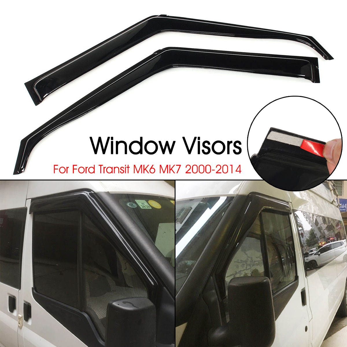 G02 2018-2019 Window Side Visors Sun Rain Guard Vent Deflectors For BMW X4