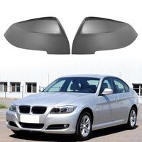 1 Pair Side Rearview Mirror Covers Wing Mirror Caps for 3 Series F30 X1 M2 Wing Mirror Rain Visor Guard Weather Snow Shield Sun