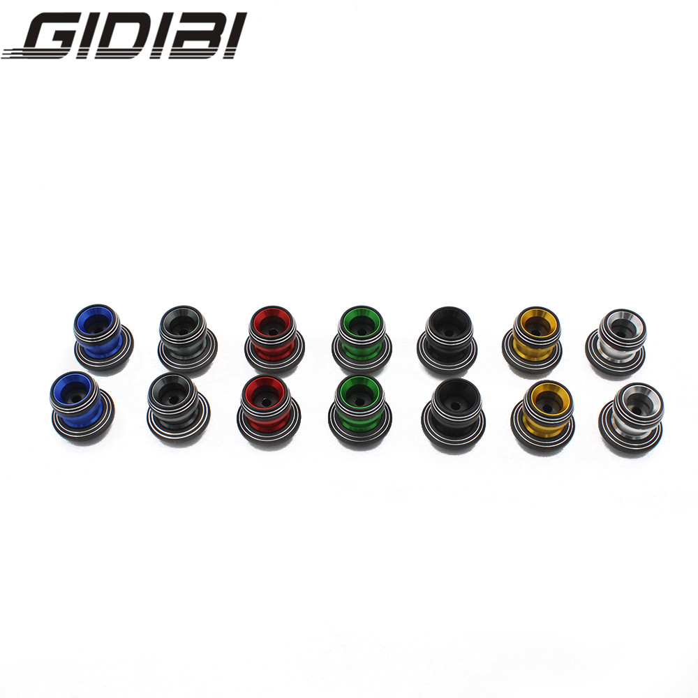 7 color Motorcycle 8MM Swingarm Spools Slider for Triumph