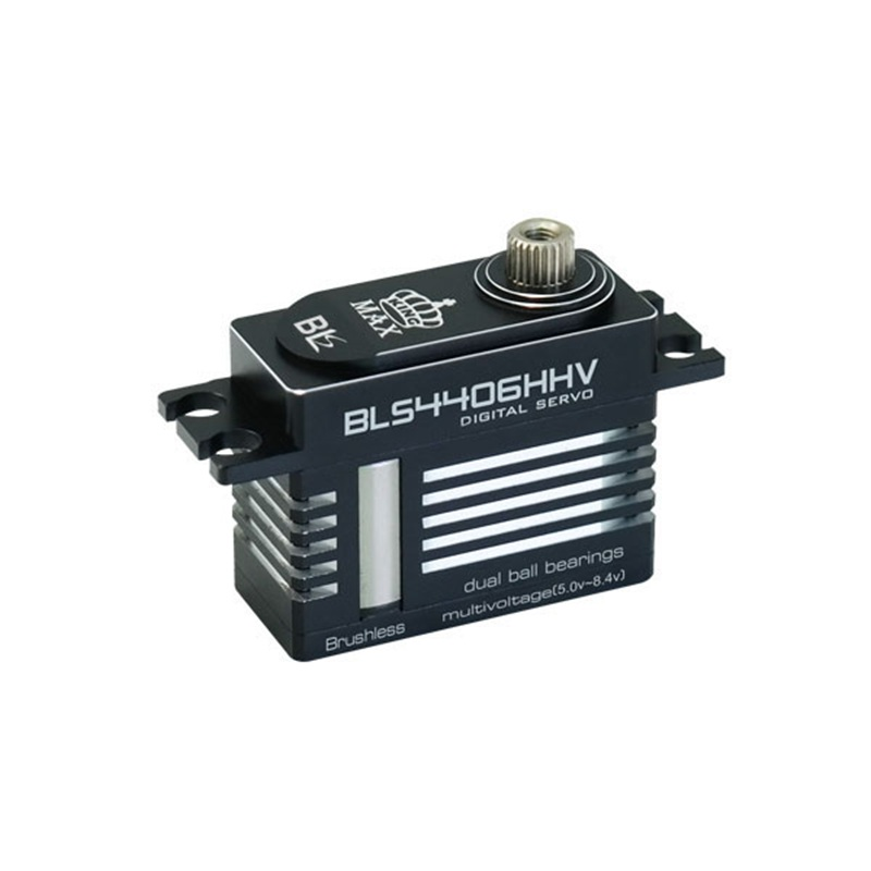 KINGMAX BLS4406HHV 44g 6kg.cm Digital Metal Gear Mini Servo Brushless Motor Full CNC Aluminum Case for RC 500 Class Heli TailKINGMAX BLS4406HHV 44g 6kg.cm Digital Metal Gear Mini Servo Brushless Motor Full CNC Aluminum Case for RC 500 Class Heli Tail