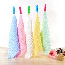 5 Pcs Baby Washcloths Organic Cotton Wipes Soft Newborn Face Towel YJS Dropship