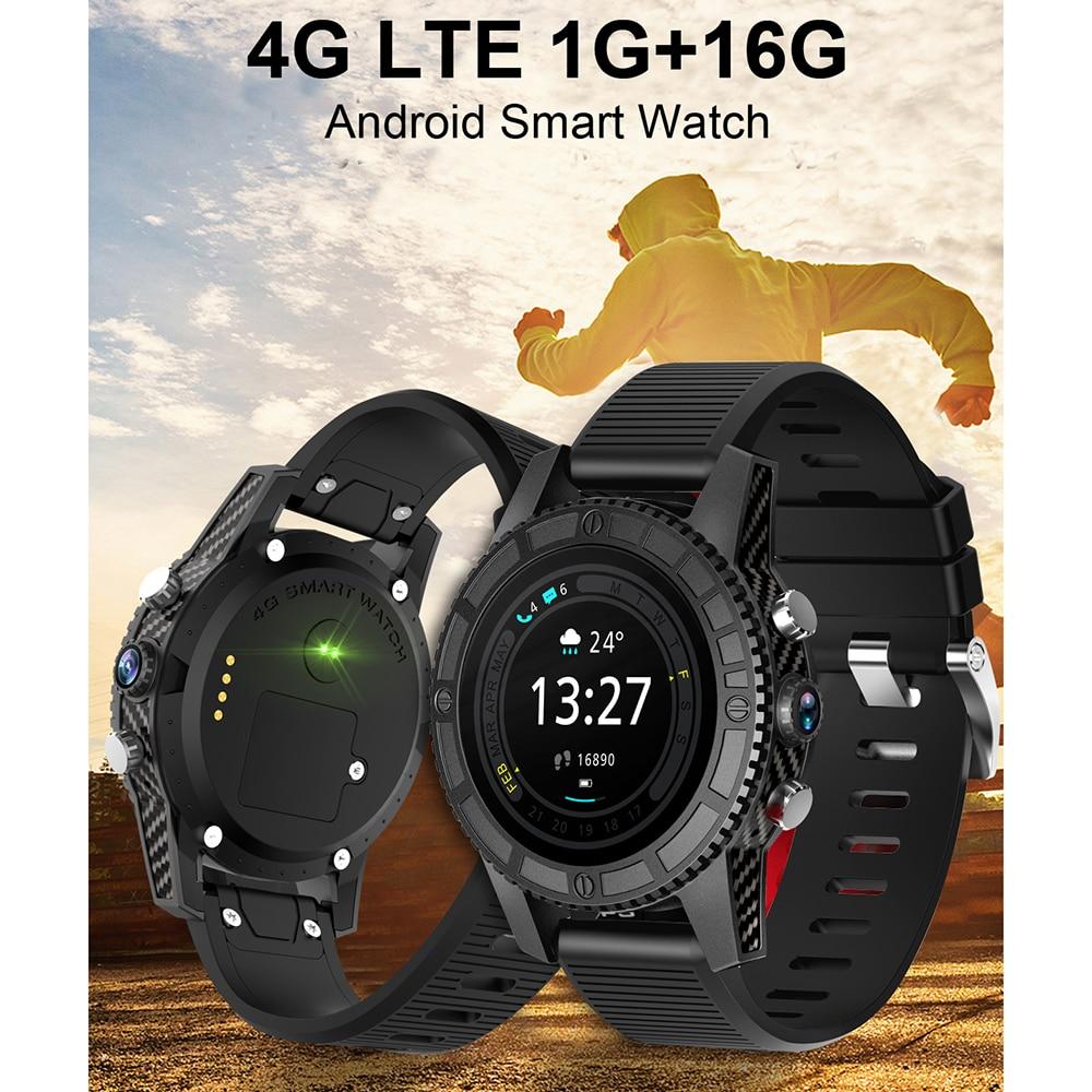 I7 4G Smart Watch Phone 1G+ 16G Android 7.0 Heart Rate Monitor GPS Smartwatch Men WiFi BT Smart Bracelet IP67 Waterproof