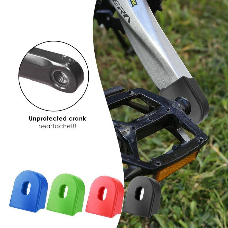 2 шт./компл. силиконовый на велосипедный шатун колеса защитный рукав протектор Горная дорога велосипед рычаг сапоги фиксированная Шестерня велосипеда рукоятка|Шатун и передняя звездочка велосипеда|   | АлиЭкспресс