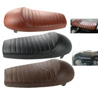 Motorcycle Accessories Universal Cafe Racer Seat 64cm Motorcycle Hump Cafe Racer Seat For Suzuki U 200 QM125 3X AX100 Long Seat