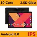 Супер 2.5D закаленное Стекло ips планшетный ПК 10 дюймов 4 Гб Оперативная память 64 Гб Встроенная память MTK6797 Deca Core, размер экрана 3g 4 аппарат не при...