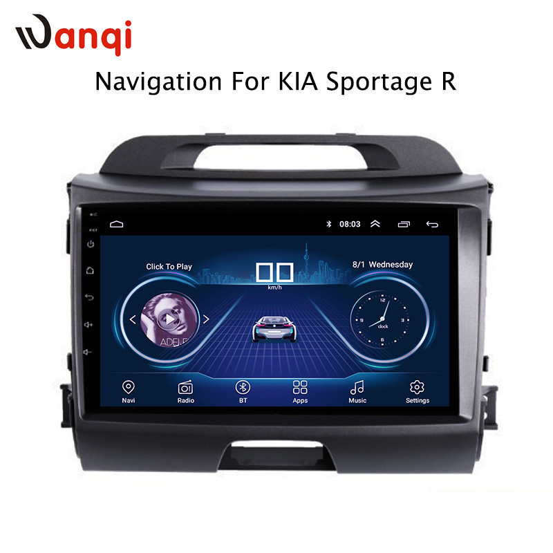 9 inch android 8.1 for KIA Sportage R 2010 2016 Auto vehicle car multimedia GPS navigation system support steering wheel control