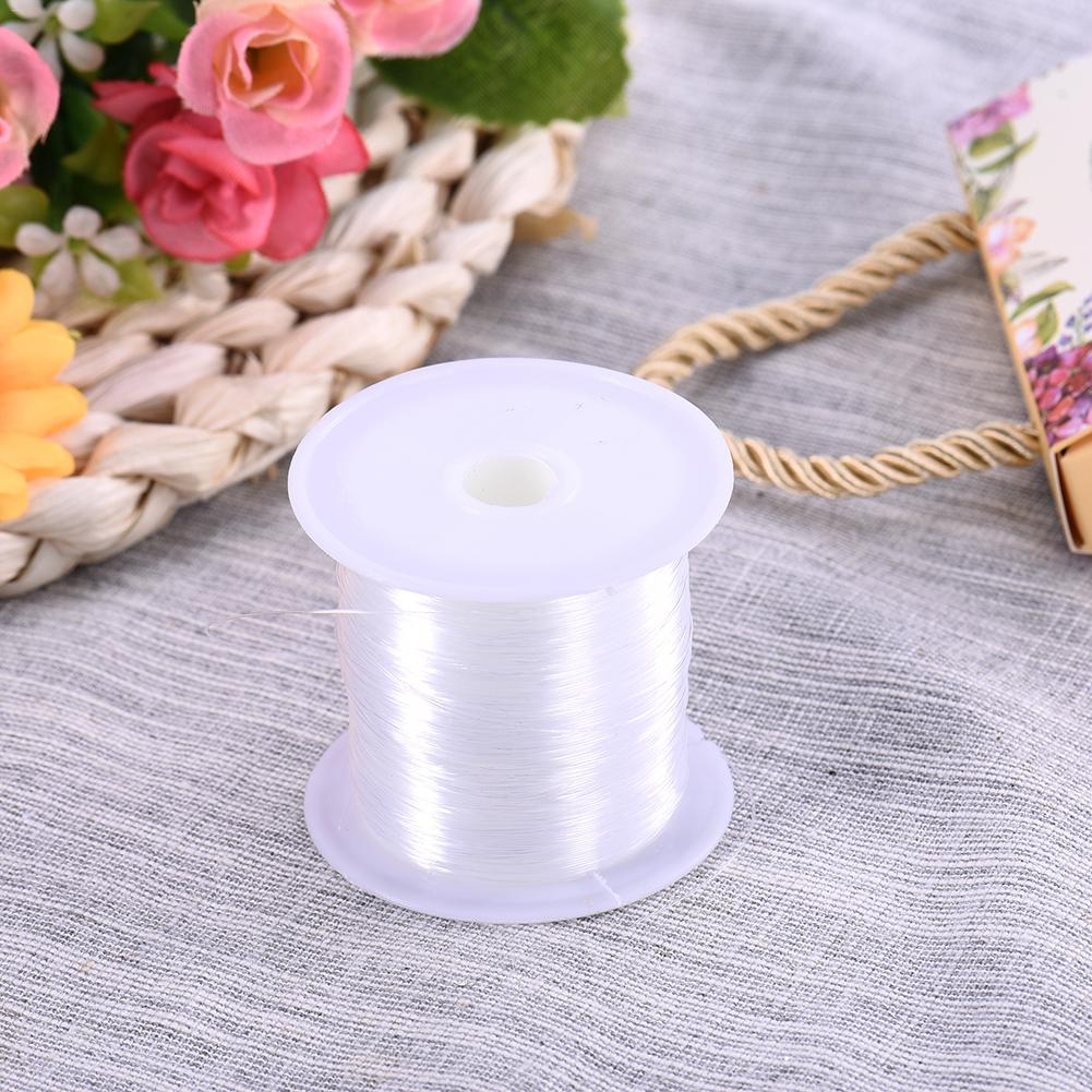 Fish Thread Transparent Sewing Thread Crystal Nylon Line Beaded Wire