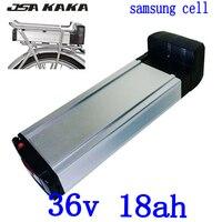 36 V 18AH batterie de vélo électrique 36 V 18AH batterie au lithium utilisation samsung cellule pour 36 V 250 W 350 W 500 W 1000 W moteur ebike|Batterie de vélo électrique| |  -