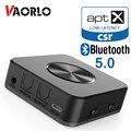 Bluetooth 5 0 Audio Sender Empfänger CSR8675 APTX HD APTX-LL Wireless Adapter Optische Toslink SPDIF Digital Für TV Kopfhörer