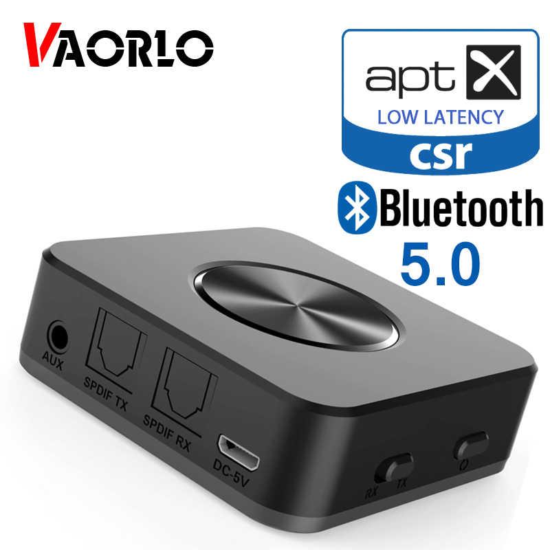 Bluetooth 5.0 nadajnik i odbiornik audio CSR8675 APTX HD APTX-LL adapter bezprzewodowy optyczny toslink spdif cyfrowy do telewizora słuchawki