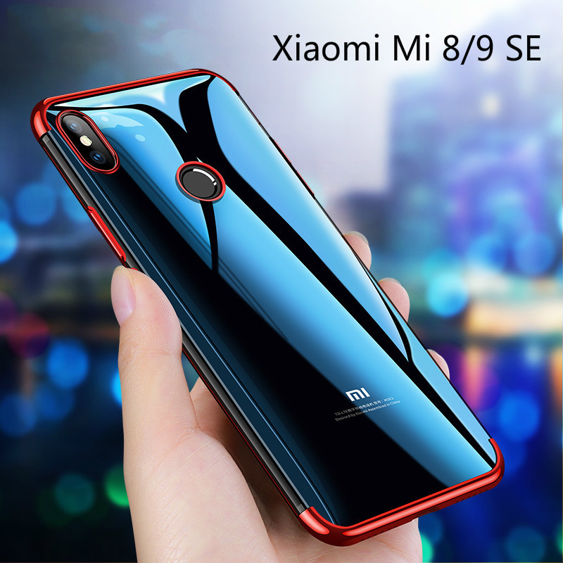 Xiaomi Mi 9 Electroplate TPU Case For Xiaomi 9 SE Soft Flexible Case Cover For Xiaomi Mi 8 Plaiting Case For Xiaomi Mi 8 SE Lite