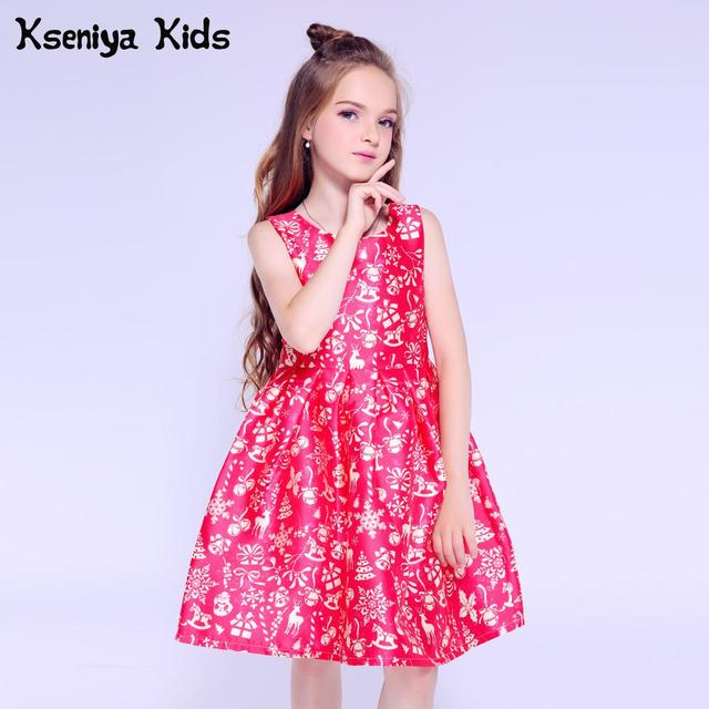 Kseniya Kids Christmas Dress For Baby Girl Clothes 6 Years Girls Party Dresses For Girls 10 12 Cute Children Evening Dresses
