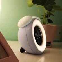BRELONG Смарт времени сна Ночной интеллигентая(ый) Сенсор будильник светодиодный Ночной светильник Премиум Utorch Smart сроки сна