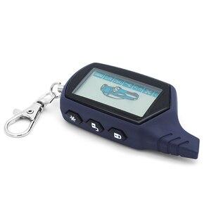 Image 2 - A91 Starline A91 Telecomando LCD Per Due Vie di Allarme Auto Keychain Starline A91 Versione Russa