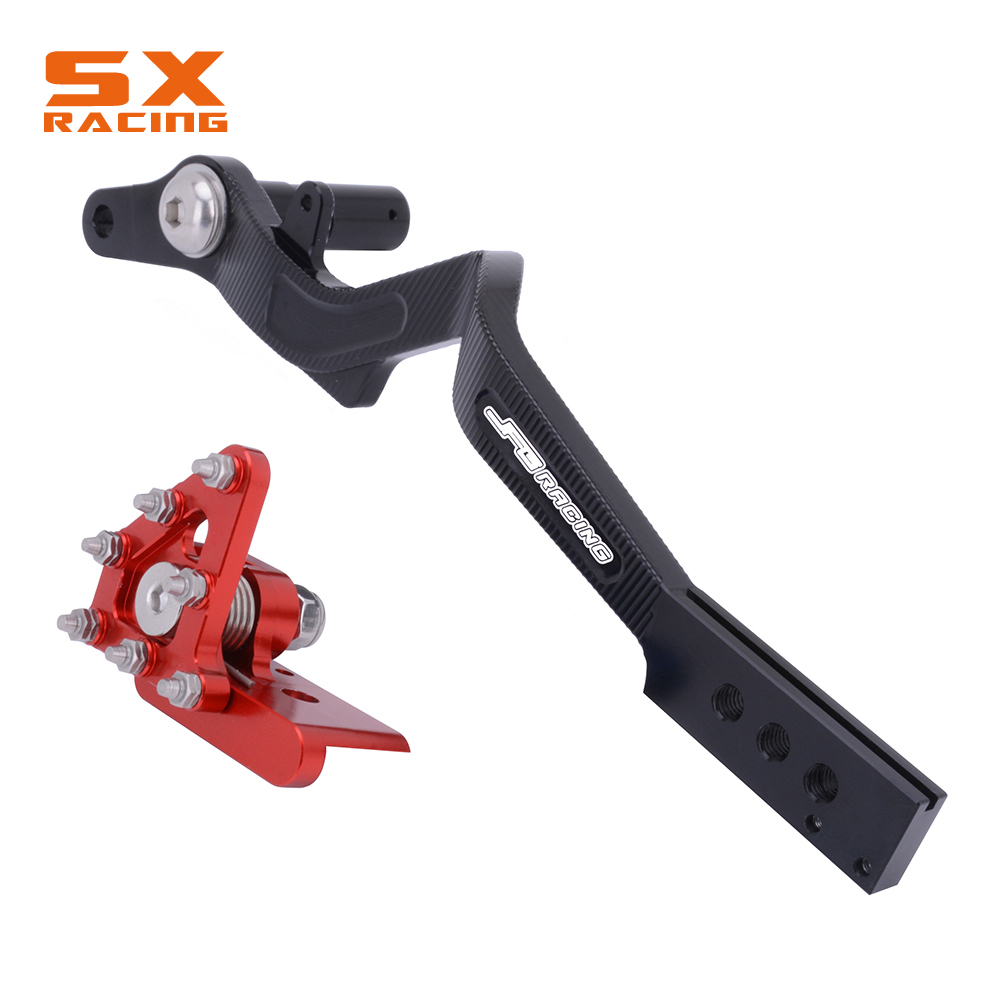 Motorcycle CNC Rear Foot Brake Lever Pedal For HONDA XR250R 2000 2001 2002 2003 2004 XR250 BAJA 2000 2007 in Levers Ropes Cables from Automobiles Motorcycles