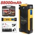 82800 mAh 12 V 4USB автомобильное зарядное устройство высокой мощности пусковое автомобильное пусковое устройство стартер усилитель Банк питания ...