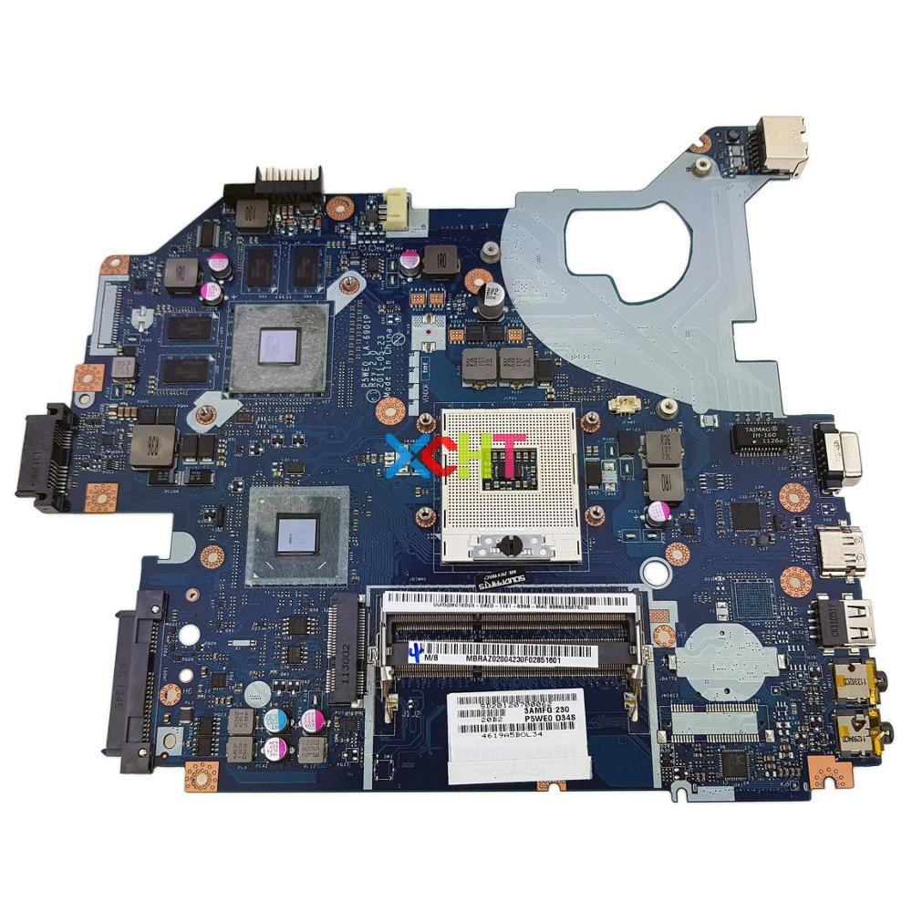 MBRAZ02004 MB.RAZ02.004 P5WE0 LA-6901P DDR3 for Acer Aspire 5750 5750G Laptop Notebook PC Motherboard TestedMBRAZ02004 MB.RAZ02.004 P5WE0 LA-6901P DDR3 for Acer Aspire 5750 5750G Laptop Notebook PC Motherboard Tested