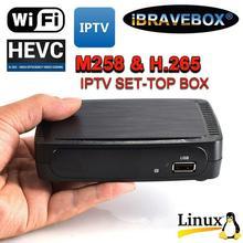 LeadingStar IBRAVEBOX M258 H.265 Linux IPTV Smart Set-top Box for Stalker Faster MAG250/254