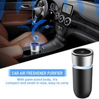 Car Air Freshener Purifier Coloured Lamp Cup Auto Mini Air Purifier Perfume Auto Air Outlet Perfume Long lasting Air Freshener
