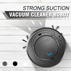 Automatic Rechargeable Smart Clean Sweeping Robot Vacuum Cleaner Floor Dirt Dust Hair Sweeper For Home Electric Vacuum Cleaners
