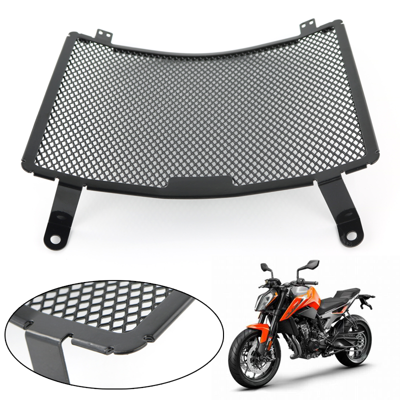 For KTM DUKE 790 2018 2019 Motorcycle Parts Radiator Guard Protector Frames Grille Grill Oil Cooler Cover Protection Aluminum