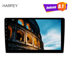 "Harfey HD pantalla táctil de 10,1 ""Universal Android 8,1 2Din Radio de coche reproductor multimedia Autoradio GPS Bluetooth FM WIFI estéreo de audio(China)"