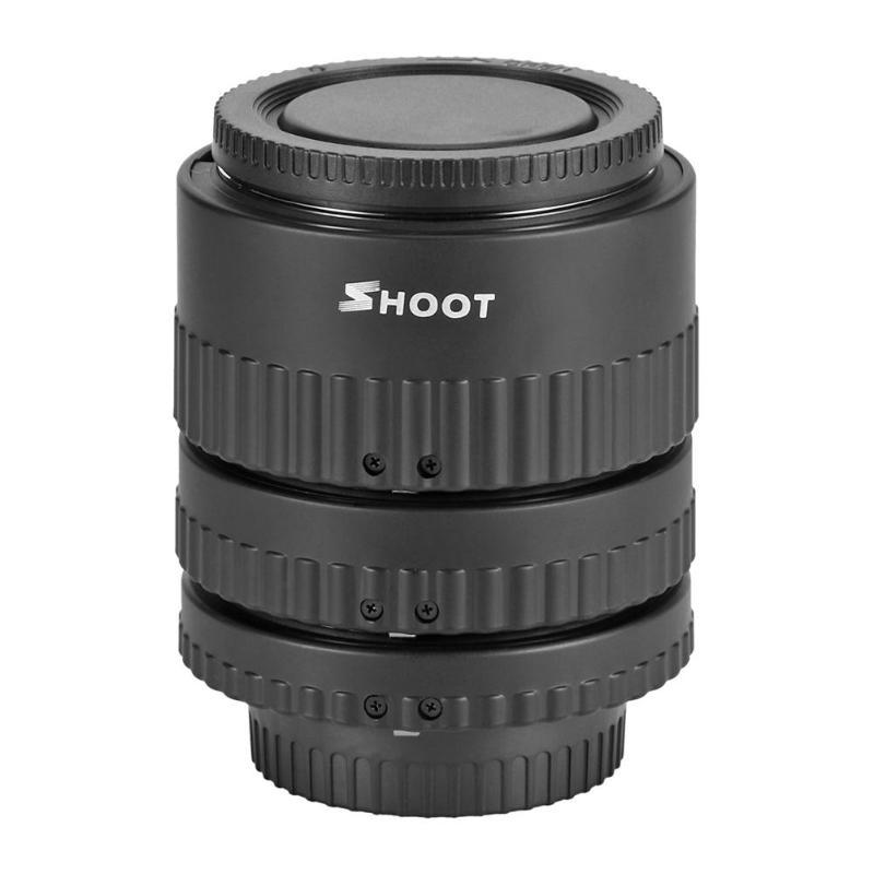 Prise de vue 12mm 20mm 36mm mise au point automatique N-AF montage de Tube d'extension Macro pour Nikon 35-70mm appareil photo pour Nikon SLR appareil photo numérique