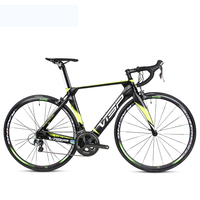 700c Cycling Carbon Road Cycling Speed Variable 22 Speed System Bicycle Lightweight Carbon Fiber Frame Front Fork Bike
