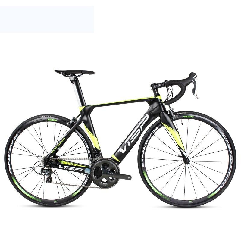 700c cyclisme carbone route vélo vitesse Variable 22 vitesse système vélo léger en Fiber de carbone cadre avant fourche vélo