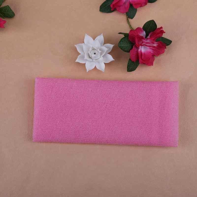 Nylon Bông Tắm Bọt Biển Khăn Thoáng Mềm Mại Khăn Mặt Rửa Vệ Sinh Dụng Cụ Tắm bóng cho bé người phụ nữ cô gái tắm hoa