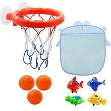 1 шт забавные детские игрушки для ванной комнаты хранилище баскетбольных