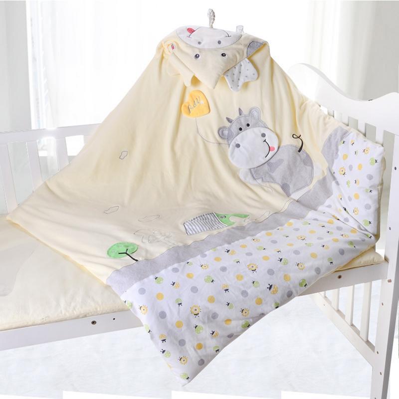 Couverture de bébé garçon et fille couverture de bébé nouveau-né couverture en coton Animal pour enfants