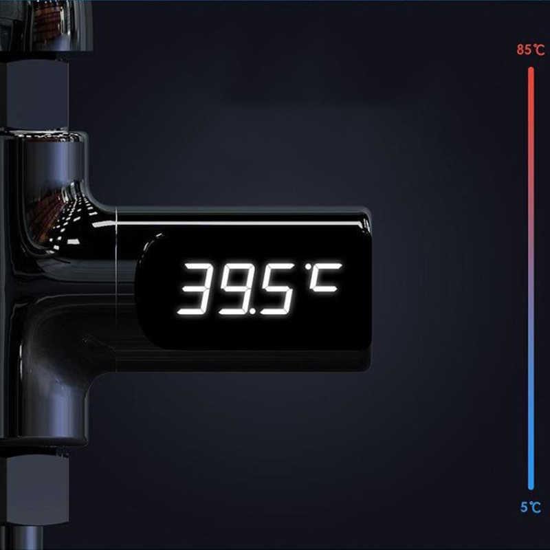 デジタル Led 表示ウォーター蛇口カートリッジ温度計自己生成水温度モニタのためのベビーケア