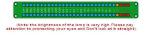 Image 4 - デュアル 30 レベルインジケータカラフルな音楽オーディオスペクトルインジケータステレオアンプ Vu メーター調整可能な光速度 AGC リズム
