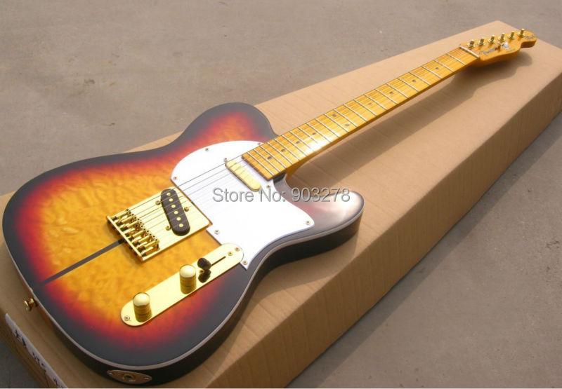 Nová kytara příjezdu TL Electric Guitar China kytarová továrna t14