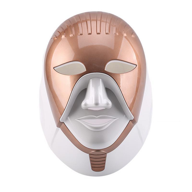 Masque LED appareil de beauté USB maison Photon rajeunissement de la peau blanchissant Blemish LED sept couleurs lumière soins de la peau masque de beauté